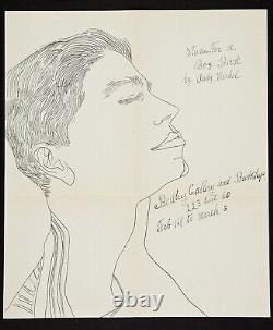 1 PM19B Andy Warhol Original Bodley Gallery Announcement Studies for a Boy Book