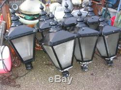 1 Used Large Old Style Street Lamp Top. Choice