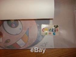 15% OFF Takashi Murakami Complexcon And Then Lapis Lazuli DOB Print Signed