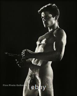1950s BRUCE BELLAS Of L. A. Vintage Nude Male RYAN IDOL Gay Photo Engraving 12X16