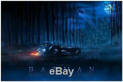 1989 Batman by Casey Callender Limited Edition 24x36 Mondo