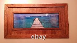 2003 Peter Lik Tahoe Jetty Limited Edition Emerald Bay Panorama