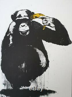 2007 Dolk Zooicide Signed Edition of 250 Perfect Condition Banksy Stablemate
