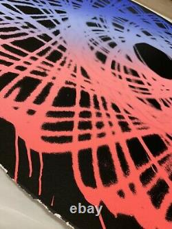 2019 Jason Revok Spirograph Screen Print Set Of 2 White And black Edition of 50