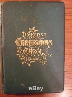 a christmas carol by charles dickens 1869 original first american edition - Original Christmas Carol