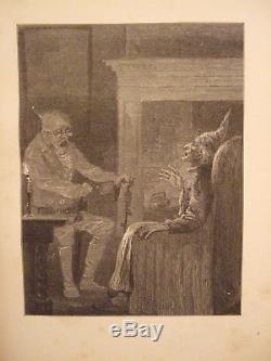 A Christmas Carol by Charles Dickens 1869 Original First American Edition