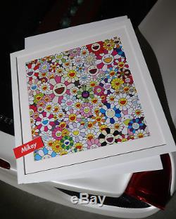 AUTHENTIC Takashi Murakami Flowers Private Collector KAWS BANKSY SUPREME