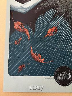 Aaron Horkey The Witch Variant Poster Mondo, Vacvvm & Alamo Drafthouse Artist