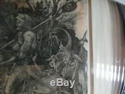 Albrecht Durer (after) Knight Death and the Devil ca. 1600 Engraving Framed