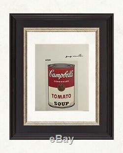 Andy Warhol 1986 Original Print Hand Signed with Certificate, Resale $5,850