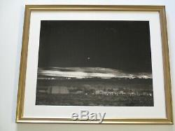 Ansel Adams Moonrise Hernandez Photograph Rare Print Large 16 By 20 Vintage