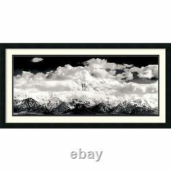 Ansel Adams, Mount McKinley Range, Denali National Park Framed Art, 40x22