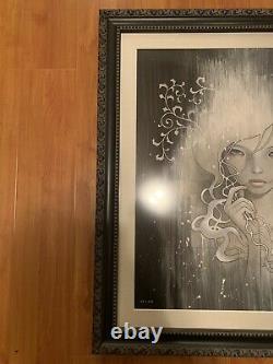 Audrey Kawasaki She Who Dares Professionally Framed Limited Edition