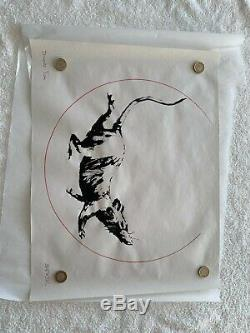 Authentic Signed Banksy Rat Print from his Gross Domestic Product Exhibition