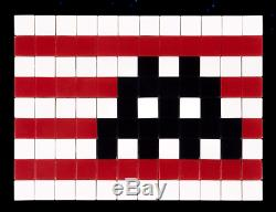 Authentic Signed & Numbered Space Invader Invasion Kit La Ik#18 Tiles Street Art