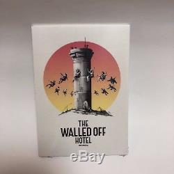 BANKSY Box Set The Walled Off Hotel Exclusive Print withreceipt, tote, soap, card etc