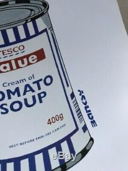 BANKSY Tesco Value Tomato Soup Can Poster un-signed cans Print