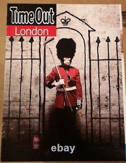 BANKSY Time Out London cover 2010 Limited Edition with certificate