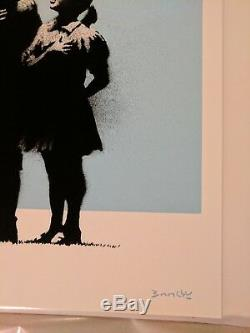 BANKSY Very Little Helps Signed & Numbered with Pest Control COA