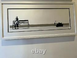 BANKSY Weston Super Mare SIGNED Print With COA From Pest Control In Hand