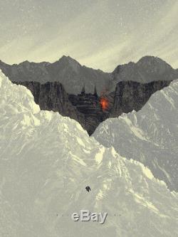 BATMAN BEGINS by Kevin Tong Mondo 18x24 Limited Edition Poster 98/150