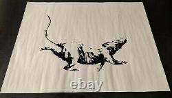 Banksy Authentic GDP Rat Screen Print
