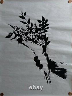 Banksy Authentic GDP Thrower Screen Print