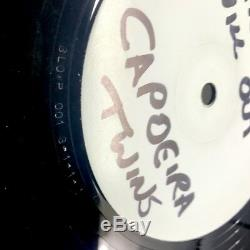 Banksy Blowpop 001 Capoeira Twins 4x3 Genuine Rare Hand Painted Record Sleeve