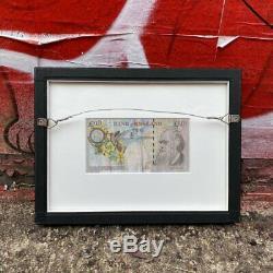 Banksy Di-Faced Tenner FRAMED by Steve Lazarides COA Print Super Rare