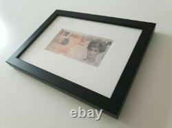 Banksy Di-faced Tenner Steve Lazarides COA- Framed- Original Lithograph