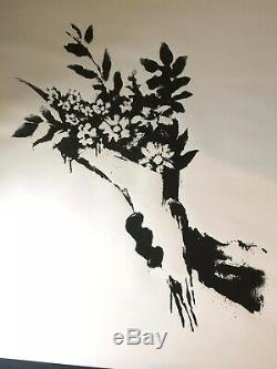 Banksy Gross Domestic Product Croydon Flowers Limited Edition Print