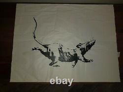 Banksy Gross Domestic Product GDP Croydon Rat Limited Edition Screen Print