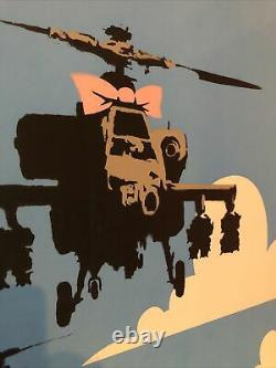 Banksy Happy Choppers With COA