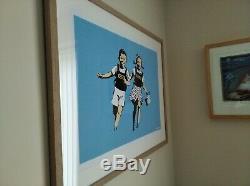 Banksy Jack & Jill / Police Kids Signed Screen Print