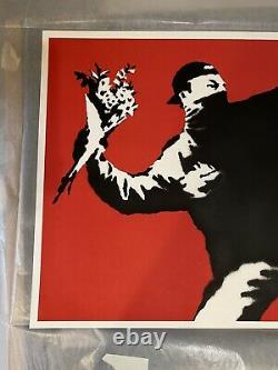 Banksy Litta Love Is In The air With COA