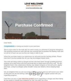 Banksy Love Welcomes mat Gross Domestic Product confirmed order 27/02