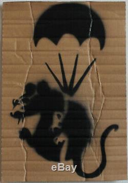 Banksy Original Stencil DISMALAND GRAFFITI