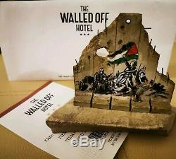 Banksy Original'Walled Off Hotel' limited edition sculpture not Gross Domestic