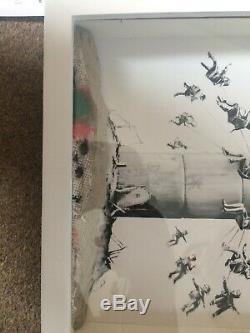 Banksy Print Walled Off Hotel Box Set With Original Receipt And Letter