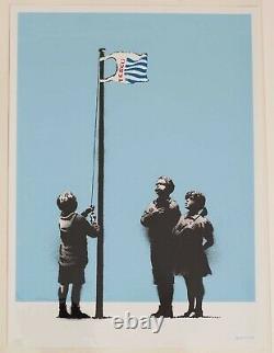 Banksy Very Little Helps 2008 Pictures On Walls Silkscreen Art Print