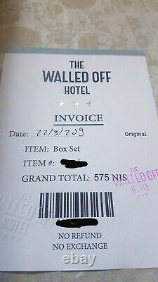Banksy Walled Off Hotel Box Set Gross Domestic Product