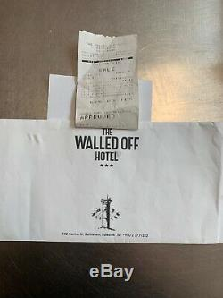 Banksy Walled Off Hotel Box Set, Ikea Edition, Receipt, extras, letter, soap