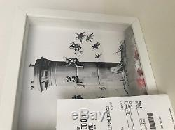 Banksy Walled Off Hotel Box Set Print With Extras