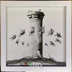 Banksy Walled Off Hotel Box Set and Receipt (Embossed Stamped Matching Edition)