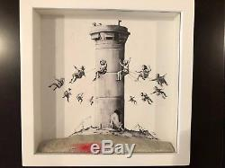 Banksy Walled Off Hotel Box Set with Original Receipt, Tote, Postcards & More