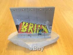 Banksy Walled Off Hotel Wall Section Artwork BRIAN Sculpture Monty Python