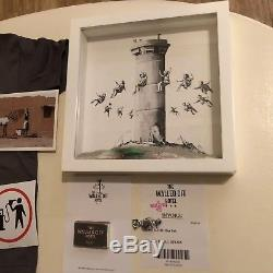 Banksy Walled Off Hotel box set. With extras and Banksy Financial Times magazine