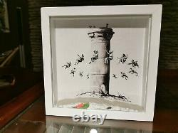 Banksy Walled off Hotel box set rare one of the first made in 2017 with COA