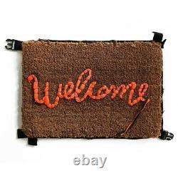 Banksy Welcome Mat Gross Domestic Product -Julian Opie, Javier Calleja, Kaws