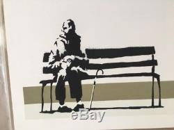 Banksy Weston Super Mare SIGNED Original Print 2003 Pest Control COA Unframed